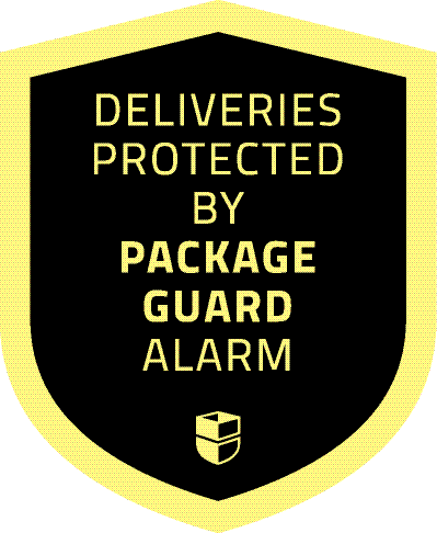 Package Guard Yard sign