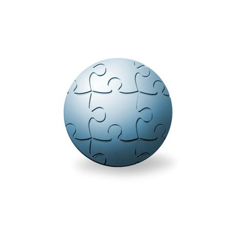 orb of jigsaw puzzles