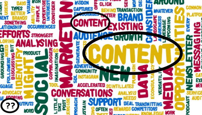 Content is critical in selling