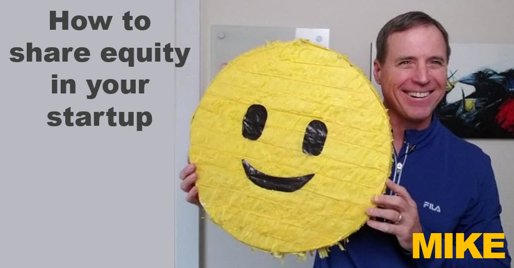 sharing equity in your startup